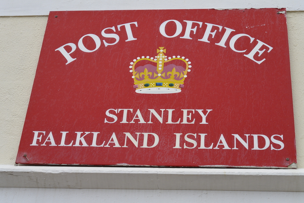 Stanley Falkland Islands Post Office