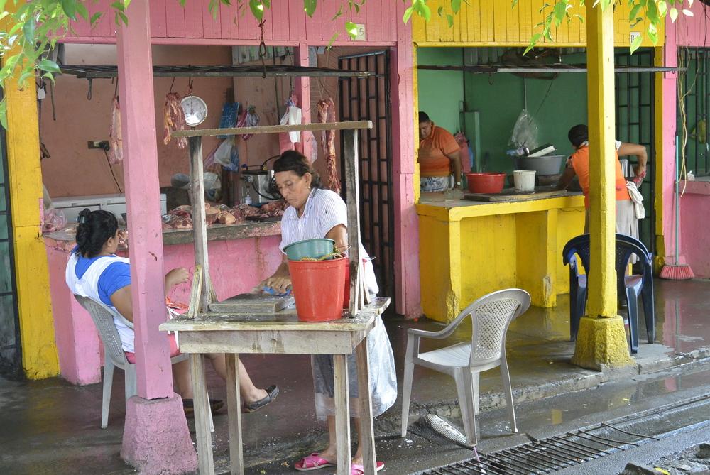 Corinto Nicaragua Street Market