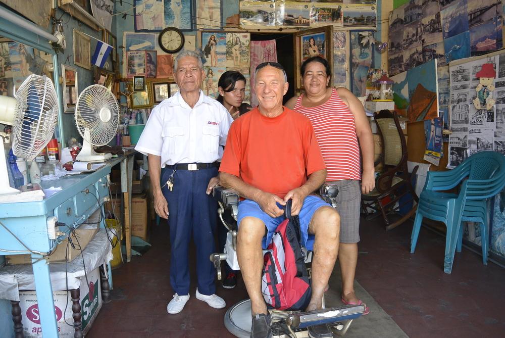 Corinto Nicaragua Barber Shop