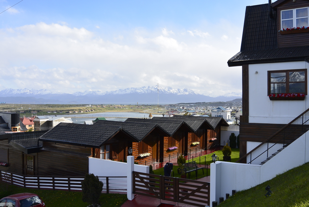 Ushuaia Argentina Houses and Mountains
