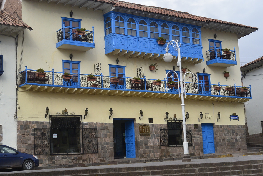 Cusco Peru Spanish Colonial House