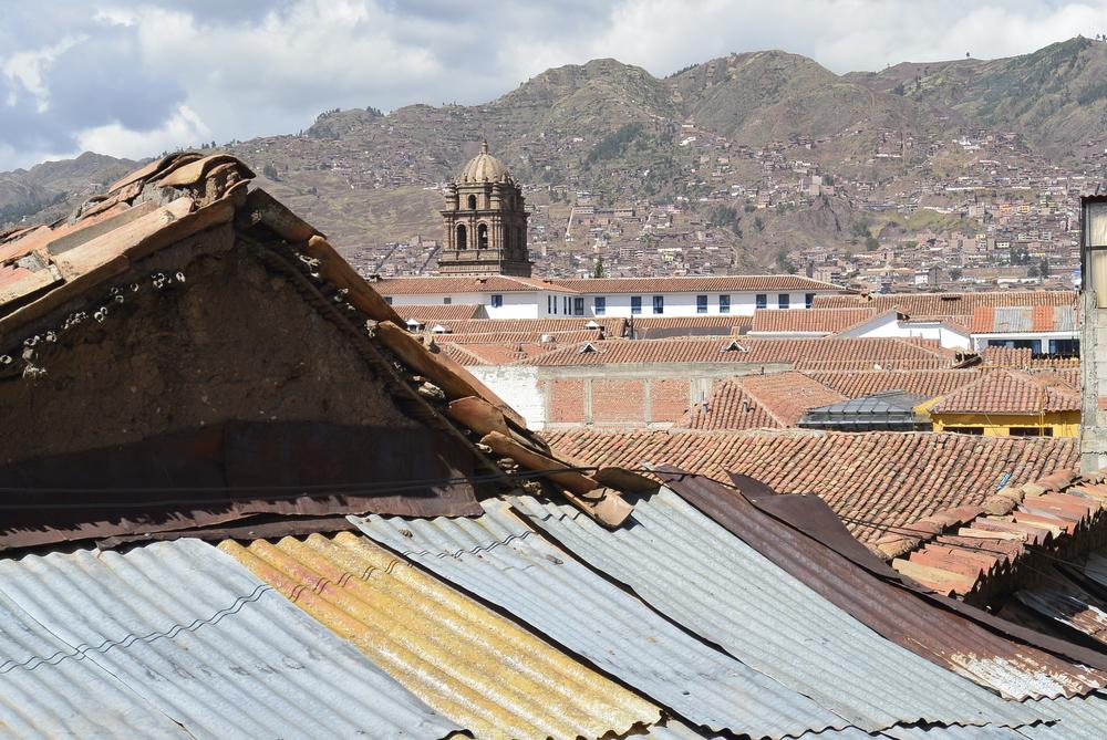 Cusco Peru Tiled Rooftops