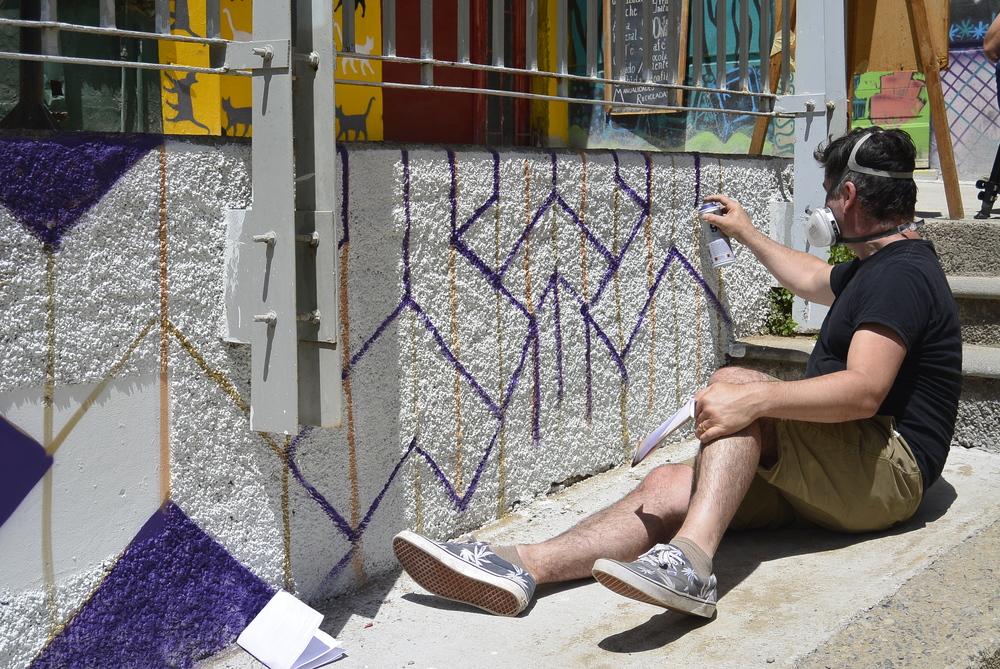 Valparaiso Chile Street Art Graffit Artist