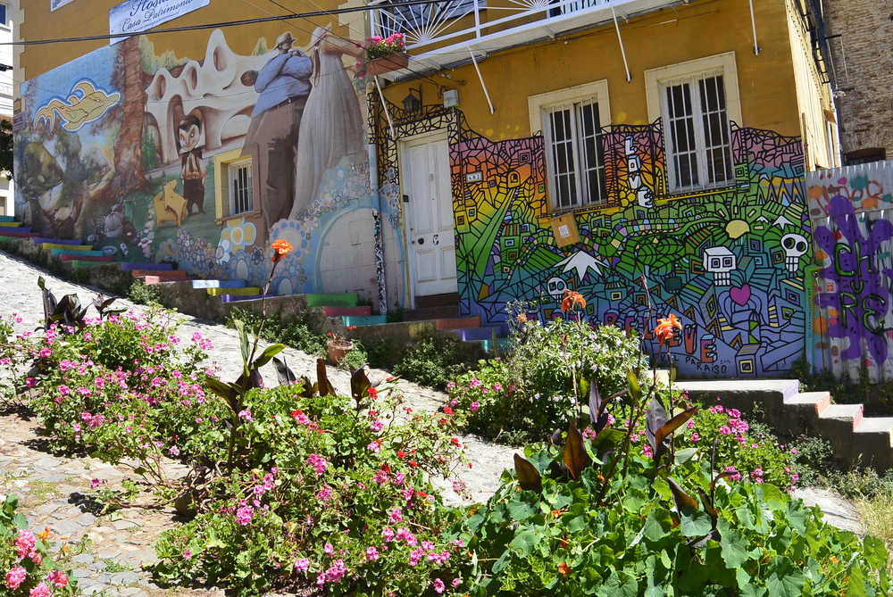 Valparaiso Chile Colorful House