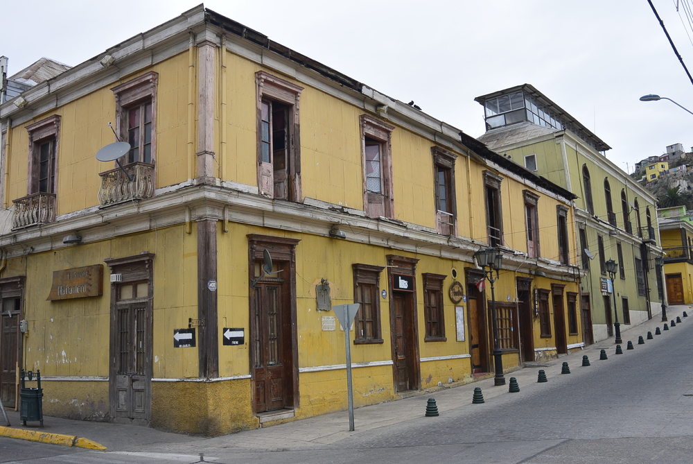 Coquimbo Chile Colonial Building Architecture