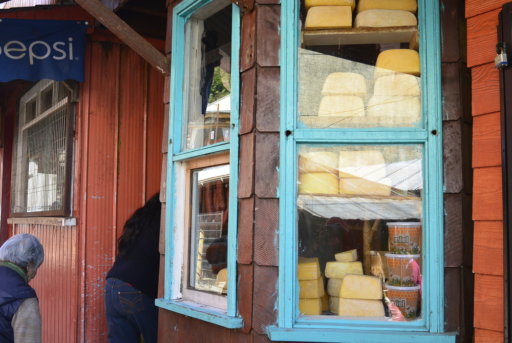 Puerto Montt Chile Cheese