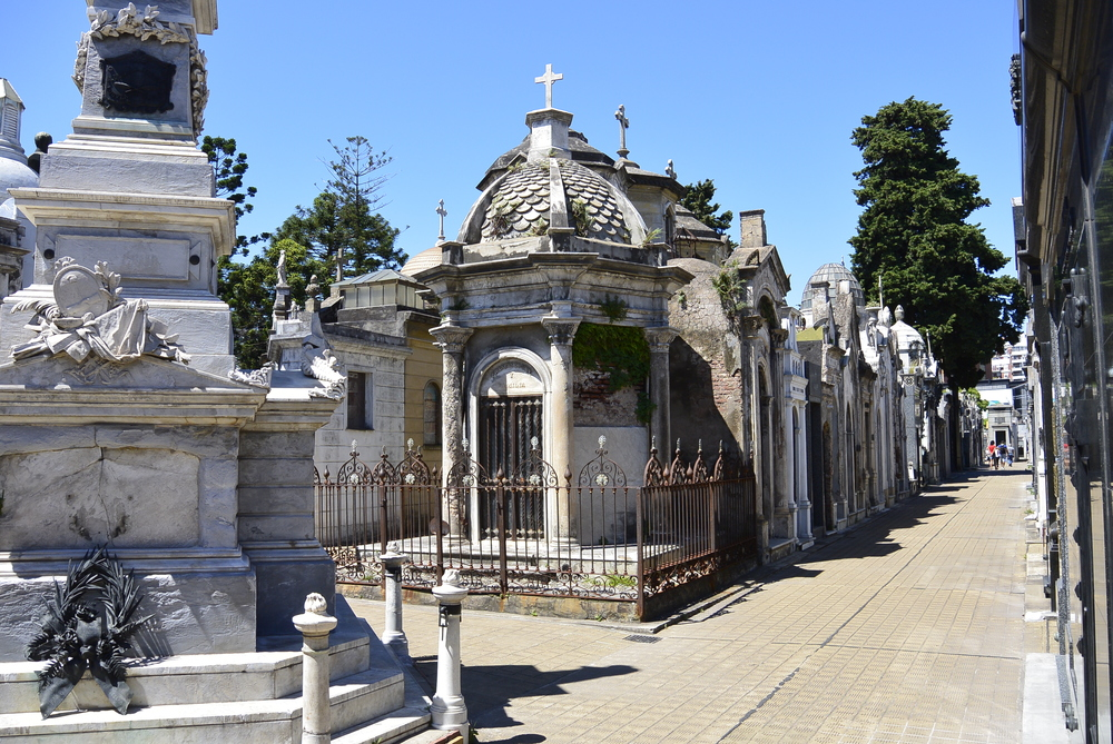 Buenos Aires Argentina cemetery