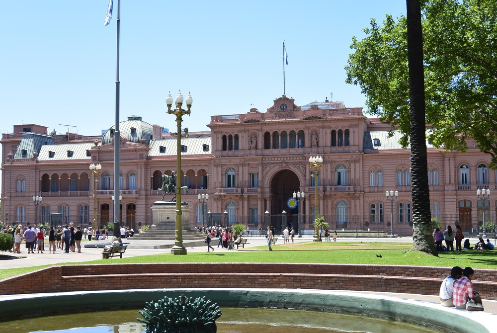 Buenos Aires Argentina palace