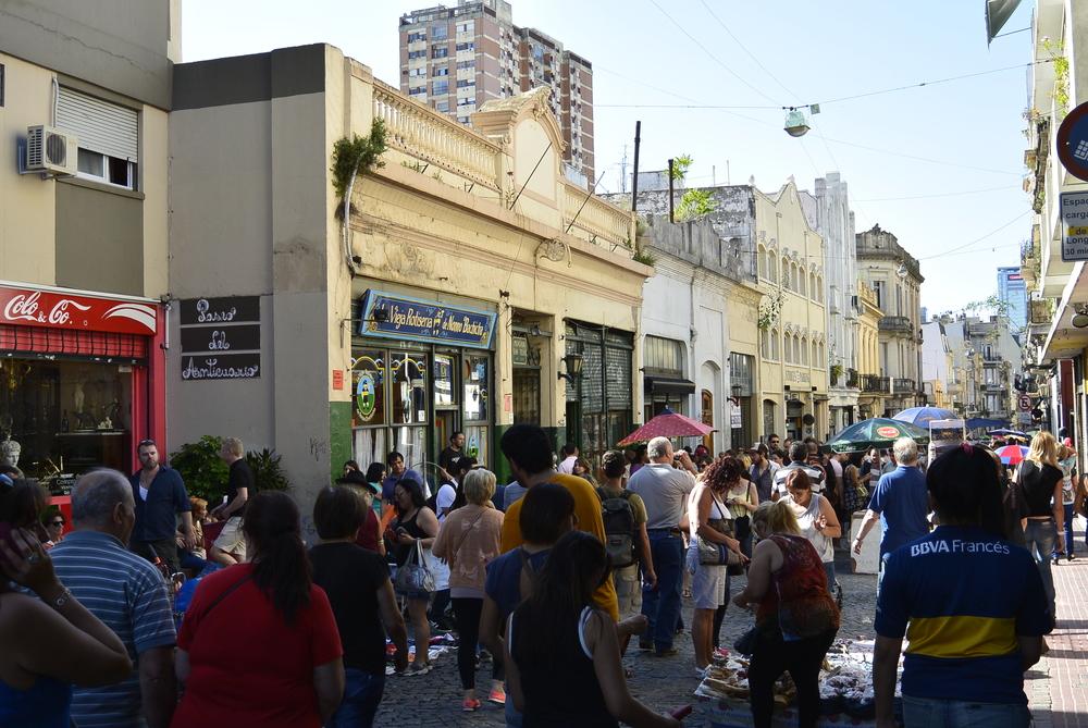Buenos Aires Argentina market