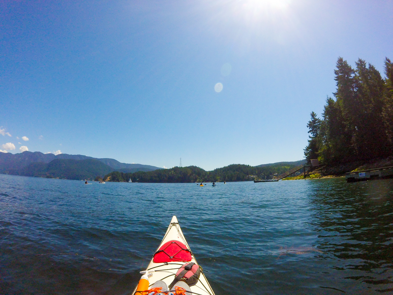 Kayaking Deep Cove and Facing My Fears — Sidetracked Travel Blog