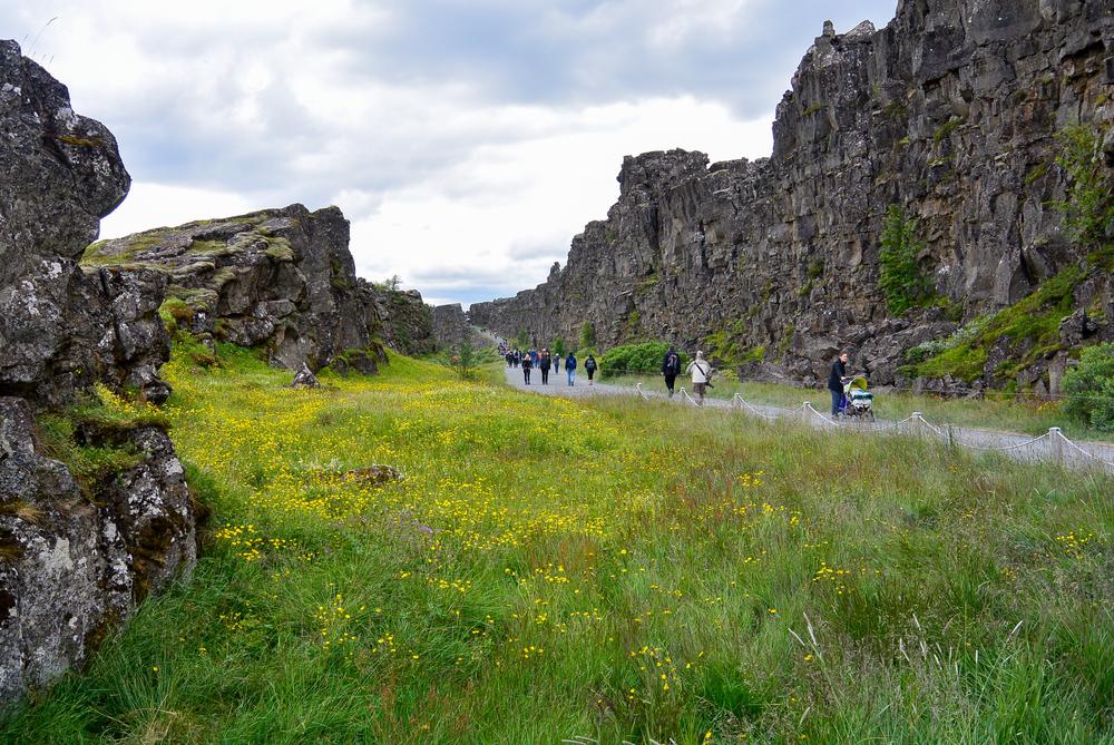 ÞINGVELLIR ICELAND