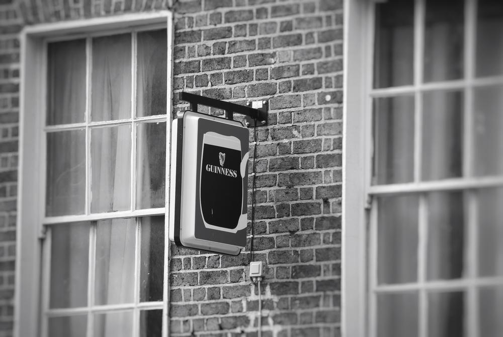 Guinness Sign, Dublin