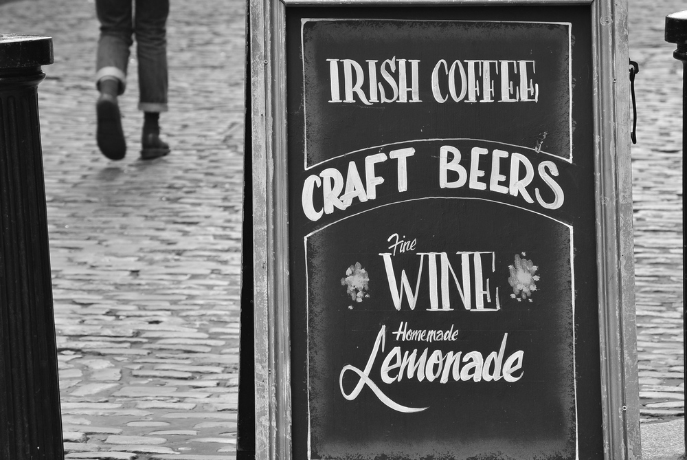 Temple Bar Pub Sign, Dublin