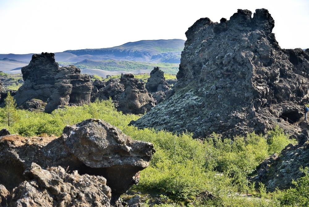Dimmuborgir lava