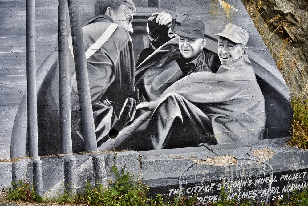 Fishermen mural