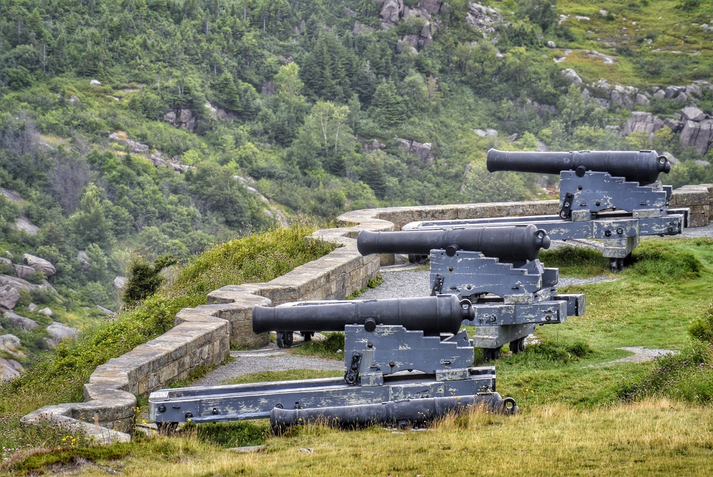 Signal Hill Cannons