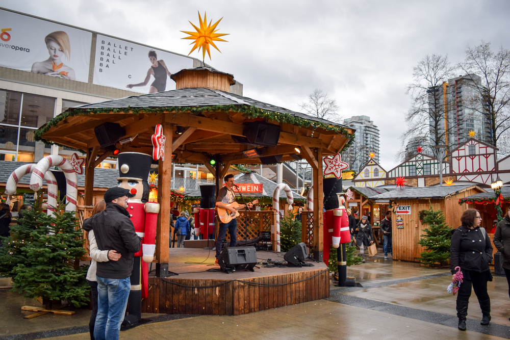 Visiting the Vancouer Christmas Market