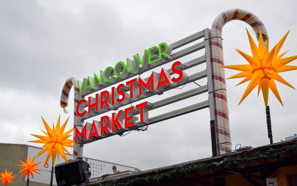Visit the Vancouver Christmas Market
