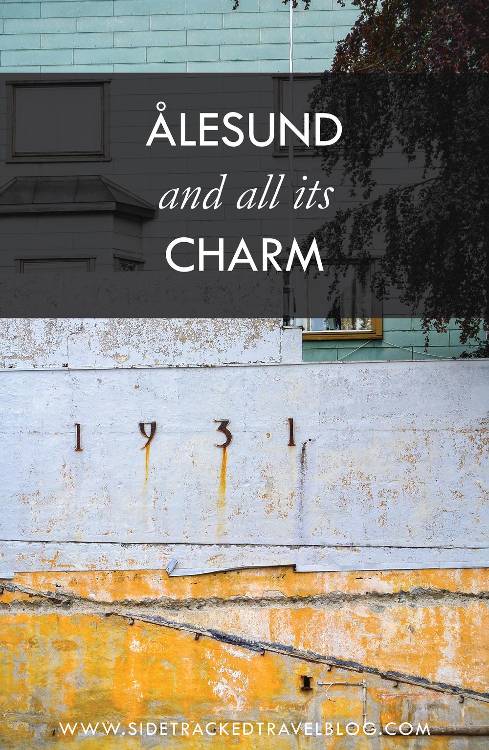 Ålesund and All Its Charm