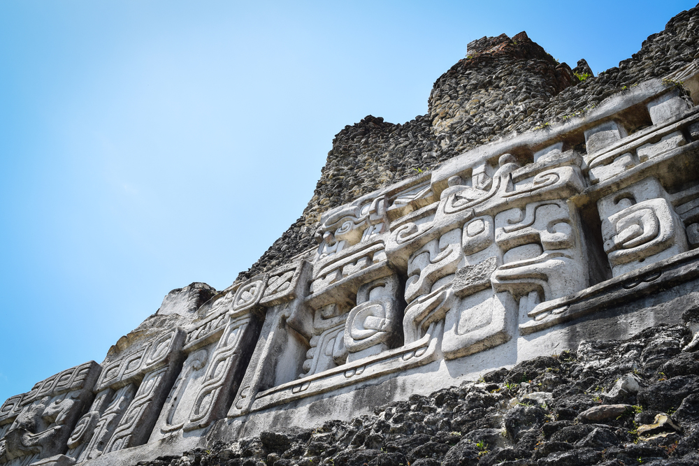 Maya frieze