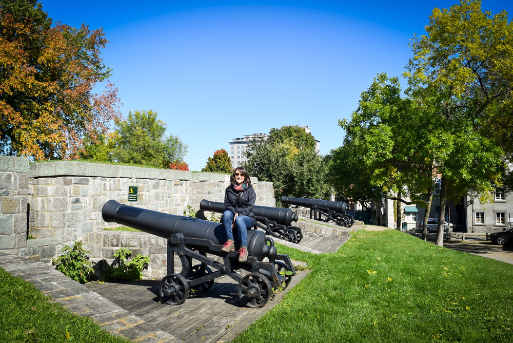 Artillery Park in Québec City