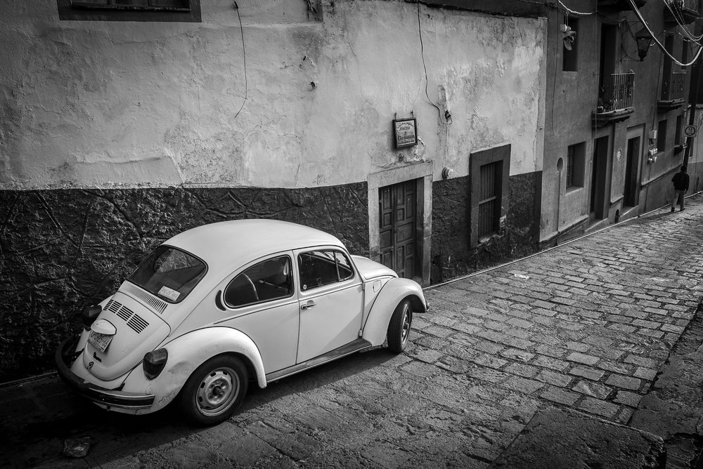 Old Volkswagen beetle