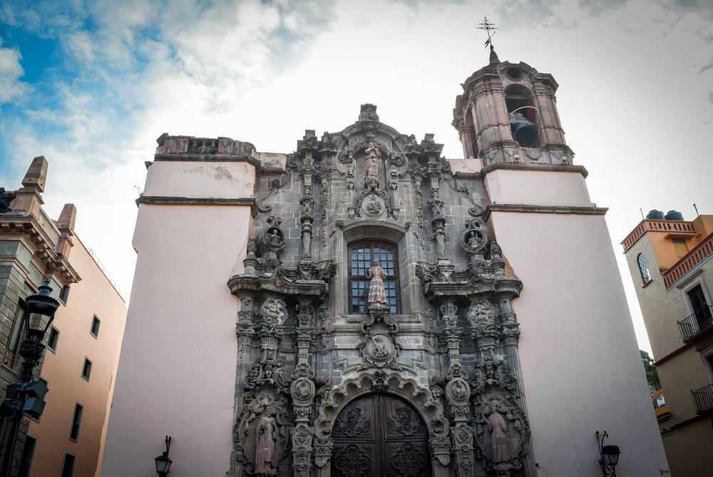 Iglesia de San Diego Guanajuato