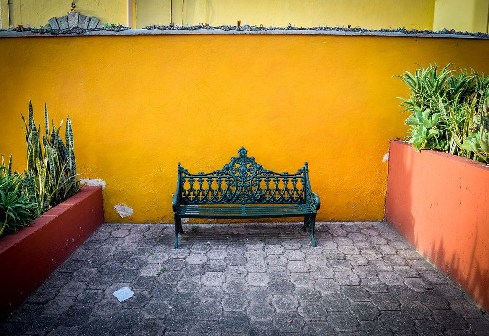 Bench in Guanajuato