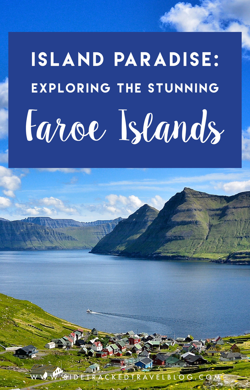 There might not be any palm trees or white sandy beaches, but the Faroe Islands are indeed an unspoiled island paradise!