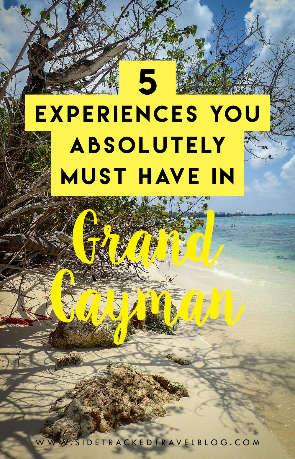 Planning your trip to the Caribbean? Here is a helpful guide highlighting five experiences you absolutely must have in Grand Cayman.