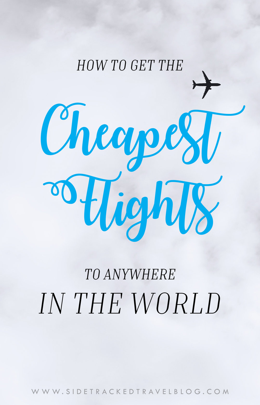 Frequent flier miles, spontaneous seat sales, credit card points programs, flight booking search engines - there is an endless vortex of options for the modern traveler to find the best deals. Here are some ways to help you find the cheapest flights to anywhere in the world!