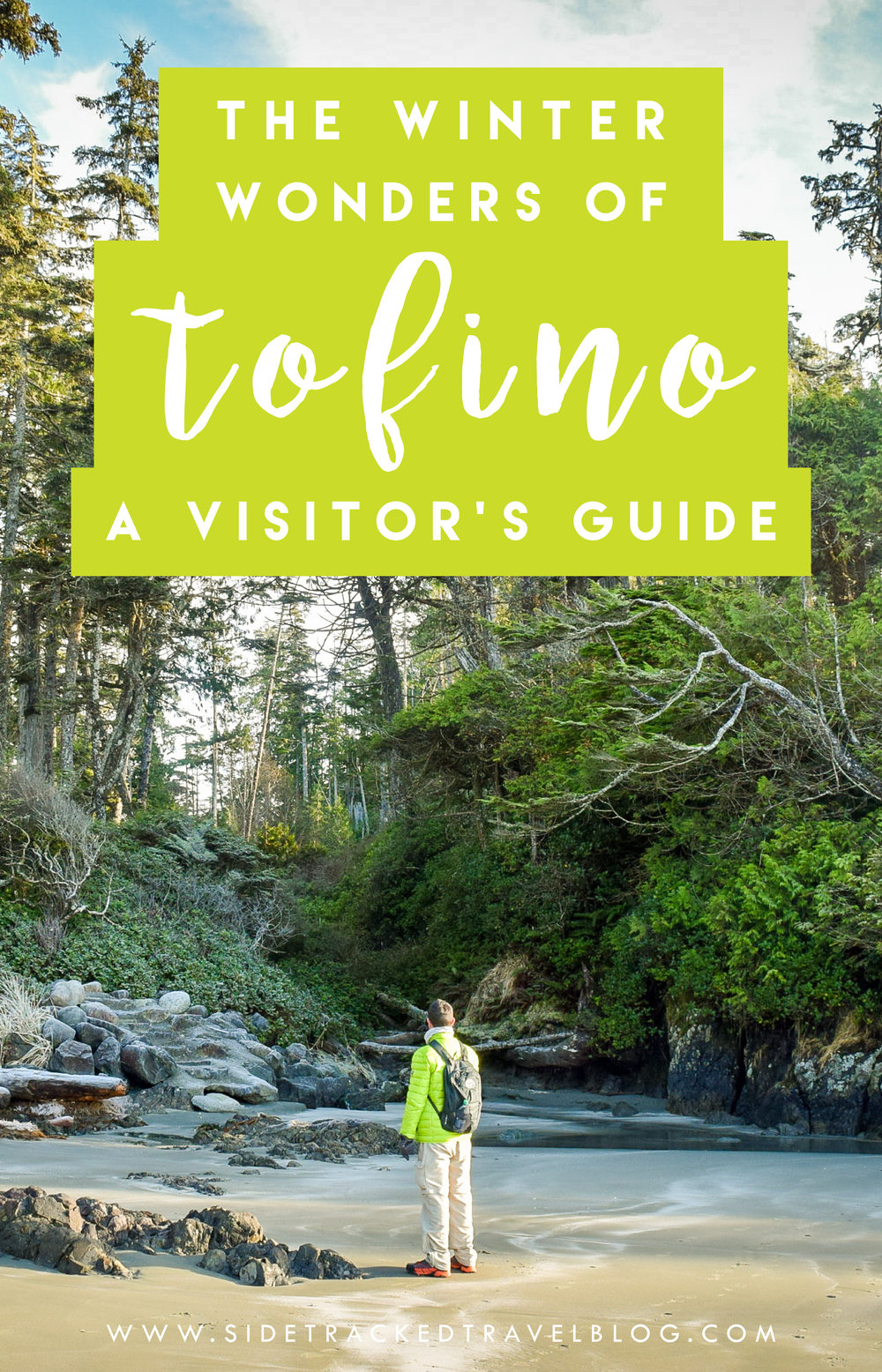 Heading to Vancouver Island? You simply have to visit Tofino, especially in the winter when the majority of tourists have gone home and you'll have this gorgeous Pacific jewel practically all to yourself.So pack your bags and explore the winter wonders in and around Tofino.