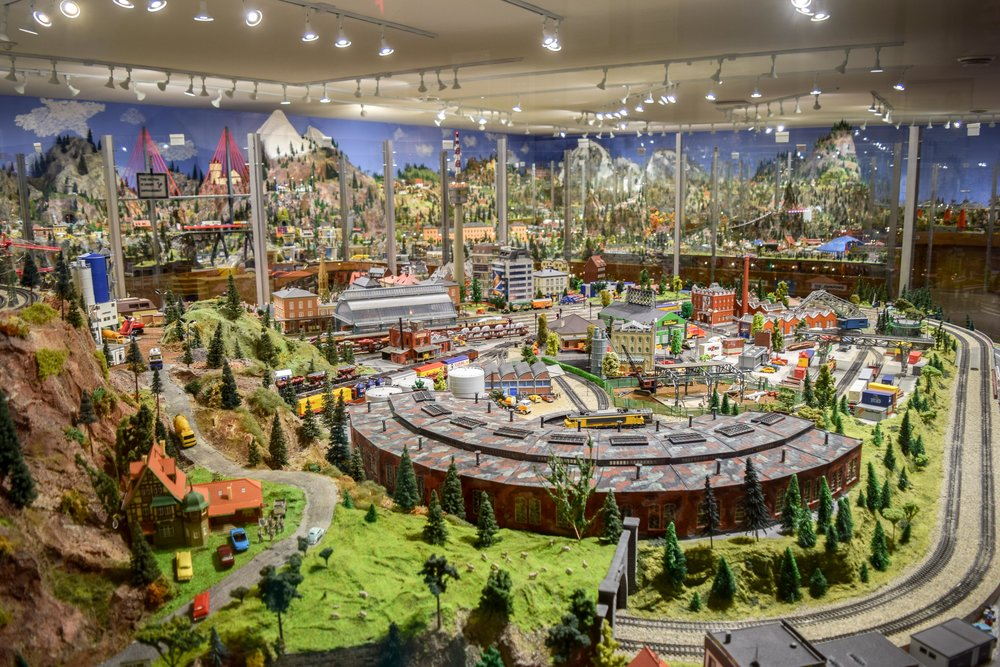 Desert Model Railroad