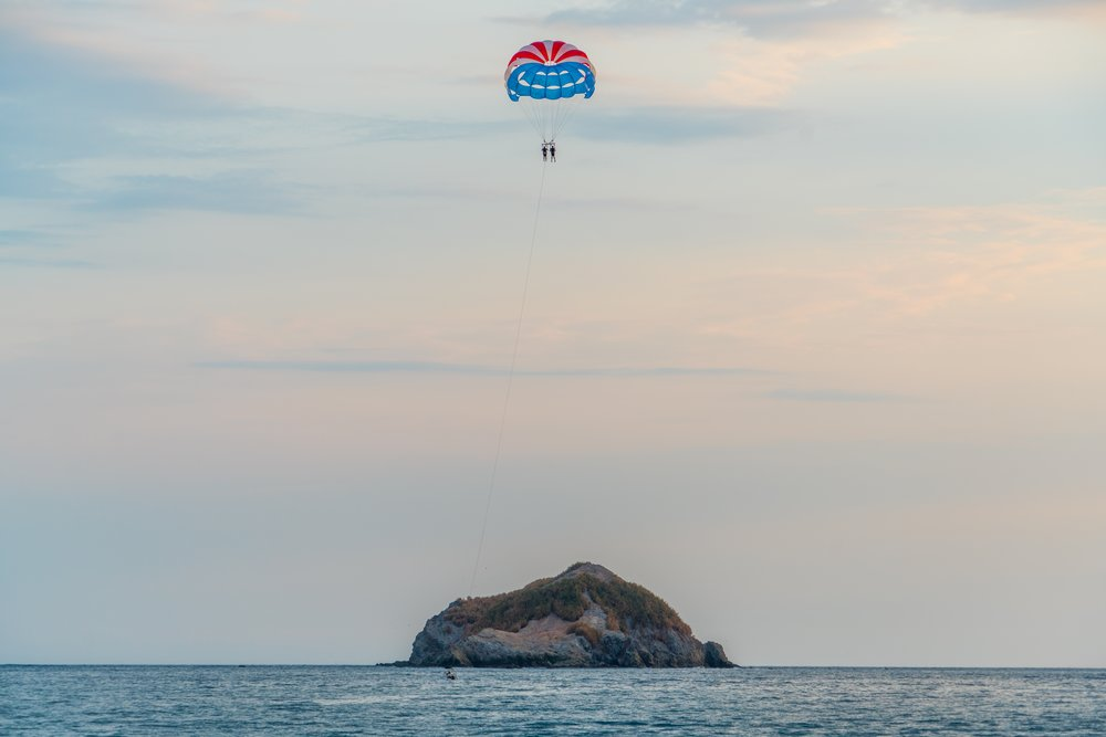 Parasailing in Costa Rica