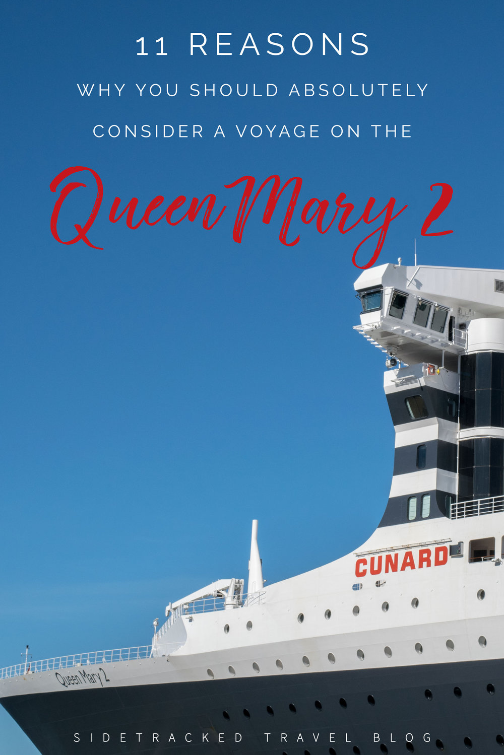 Not everyone will love traveling on the Queen Mary 2, but nobody will be able to say that it isn't a worthwhile experience that stays with them. Here are 11 reasons why you should absolutely consider a voyage on the Queen Mary 2.