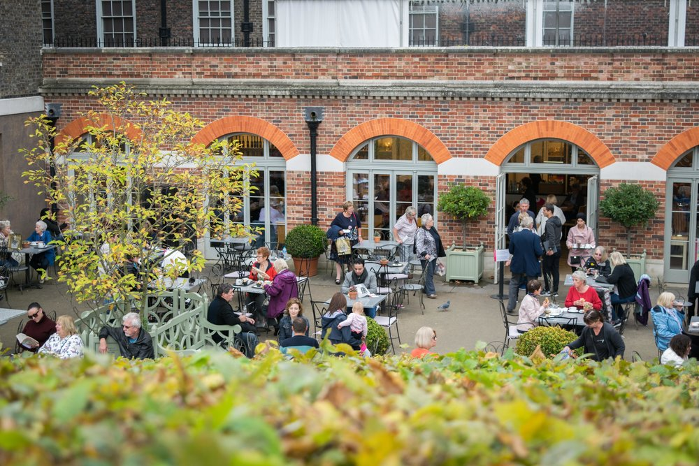 Visitor Cafe at Kensington Palace
