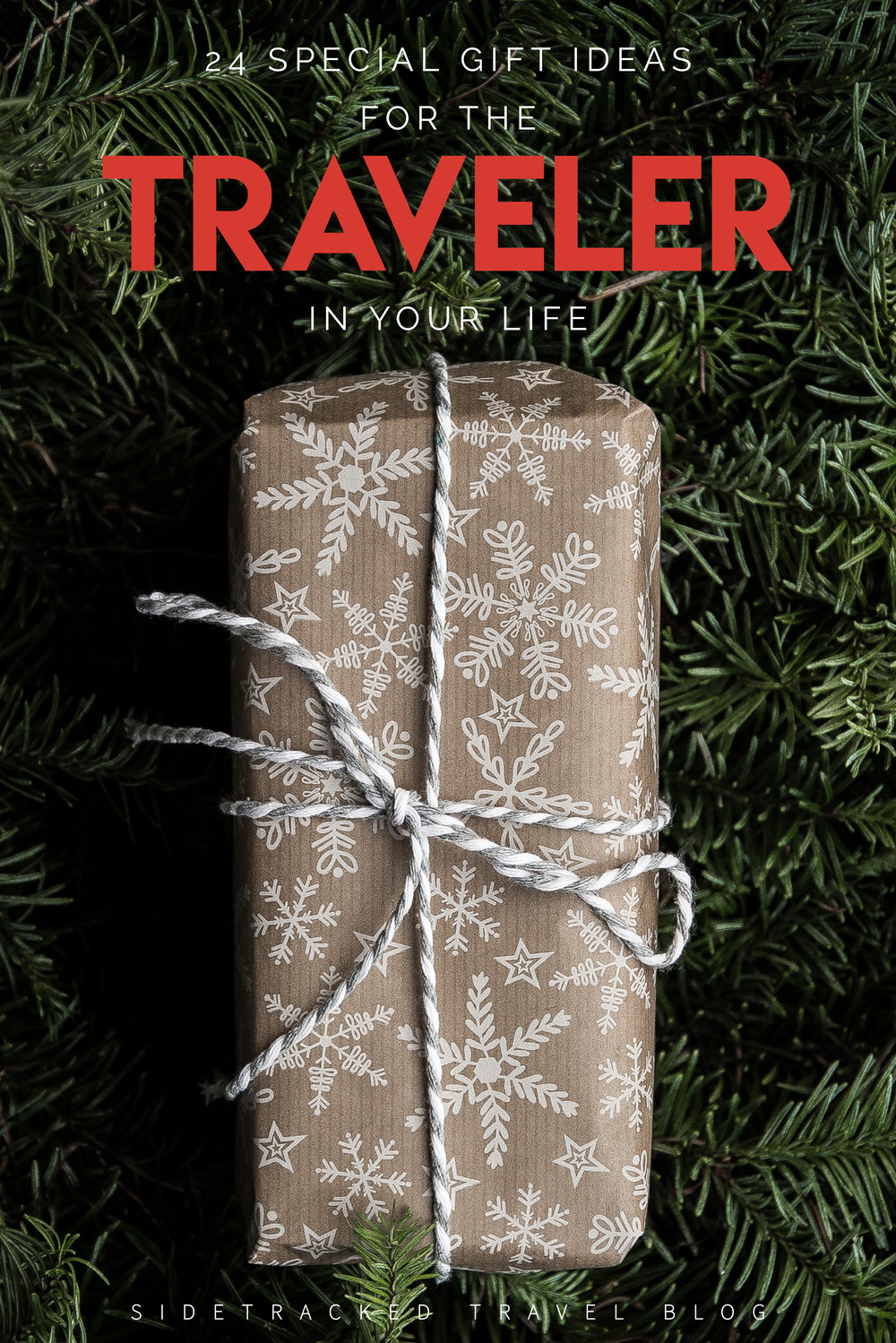 With the holidays just around the corner, I've put together this list of 24 unique and practical gift ideas that I hope you or the traveler in your life will love!