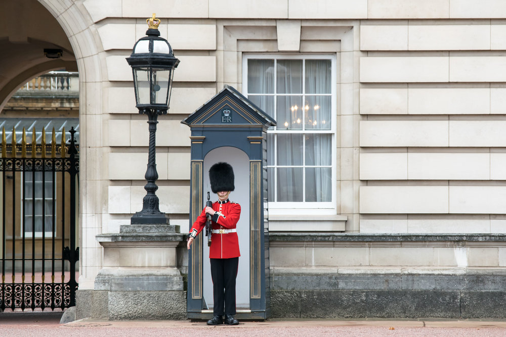 Member of the Queen's Guard at Buckingham Palace