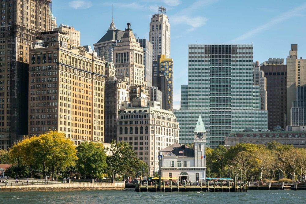 Lower Manhattan Waterfront