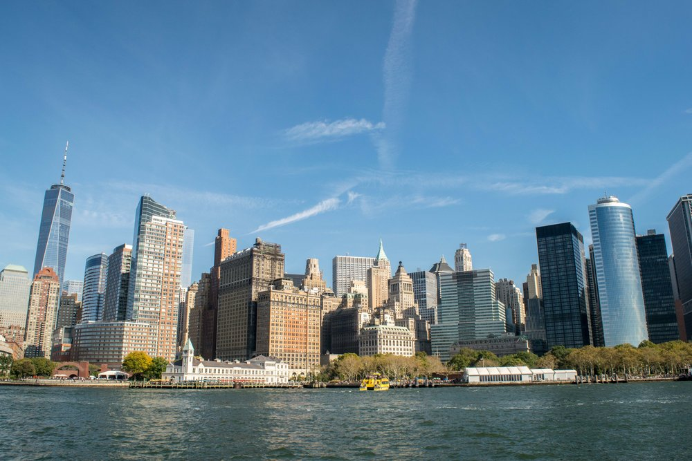 Lower Manhattan Skyline and Waterfront
