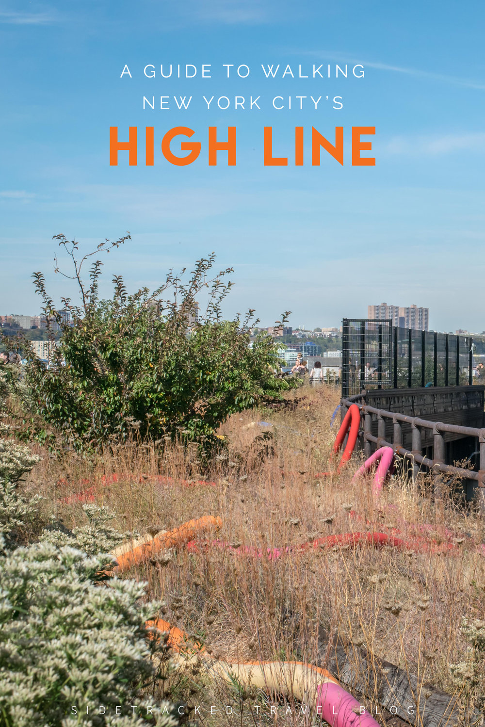 Need a break from the madness of Midtown Manhattan? Then walking the High Line, a wonderfully wild green pathway built onto an elevated and abandoned railway line, just might be the thing for you! Here's everything you should know about visiting the High Line!