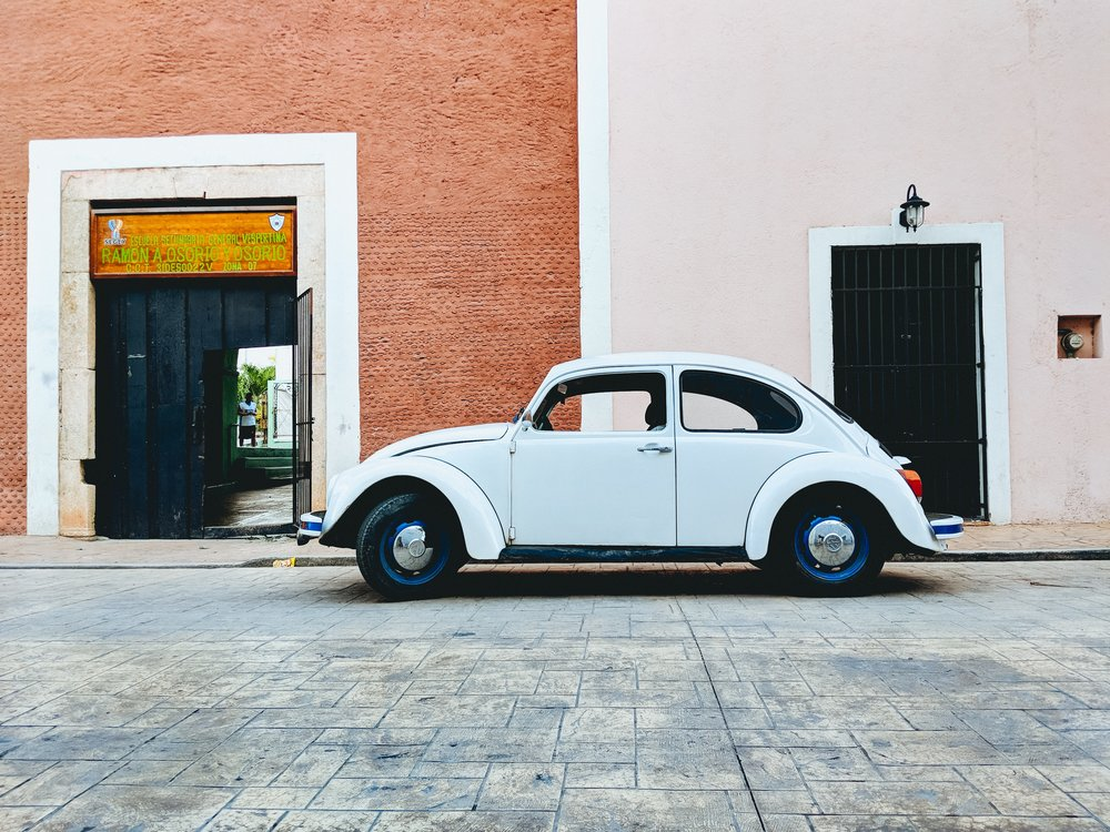 Old VW Beetle in Mexico
