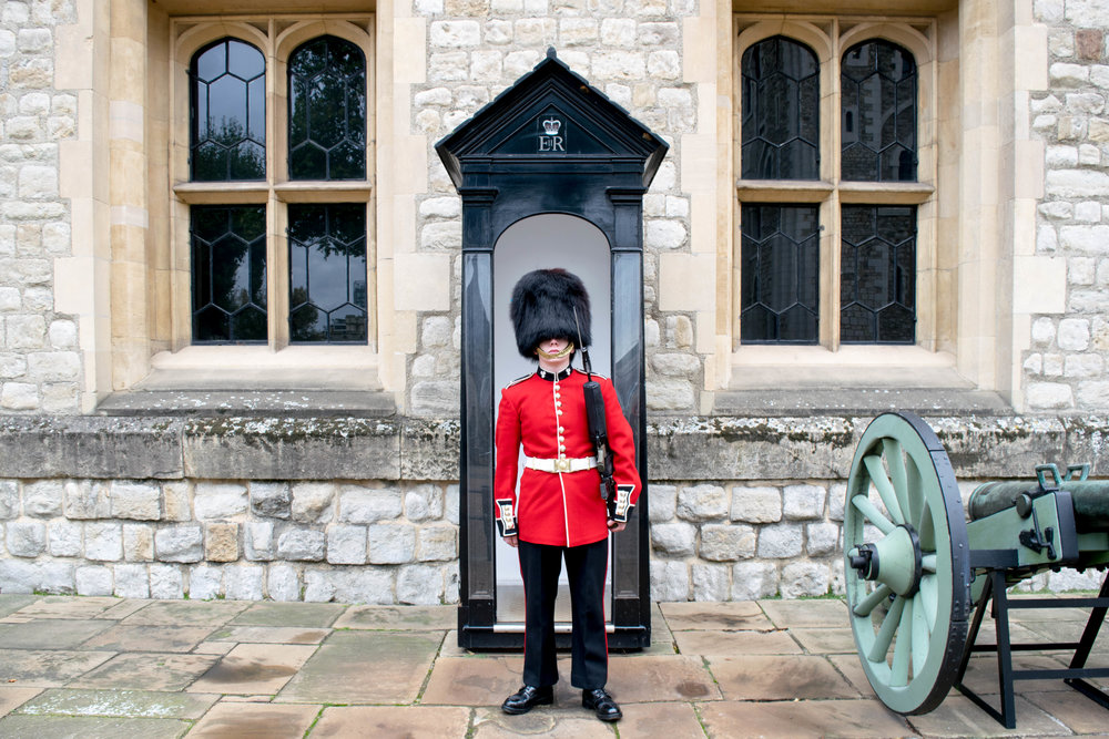 Queen's Guard in the Tower of London