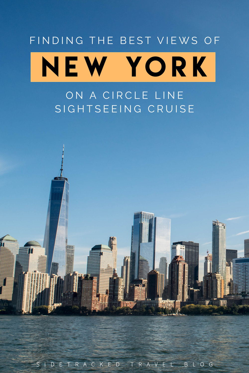 Many of the best views of New York can be found from observation decks high atop notable buildings. But what happens when you head down to sea level instead? From what I saw on a Circle Line Sightseeing Cruise, the views are just as grand!