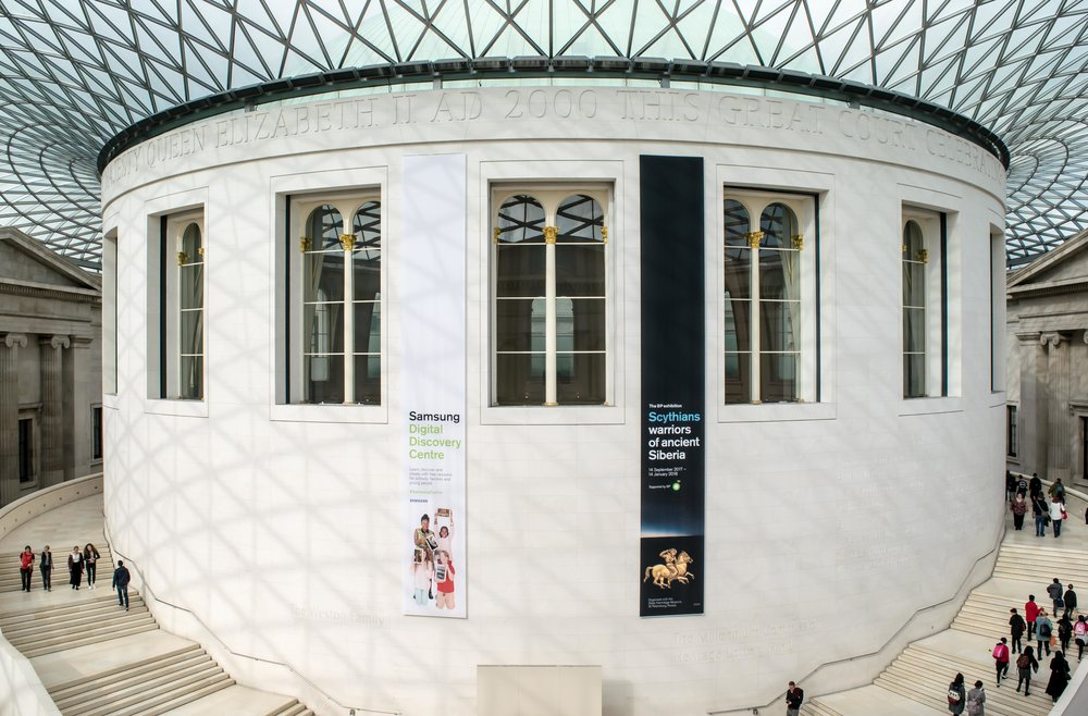 The Great Court and Reading Room in the British Museum