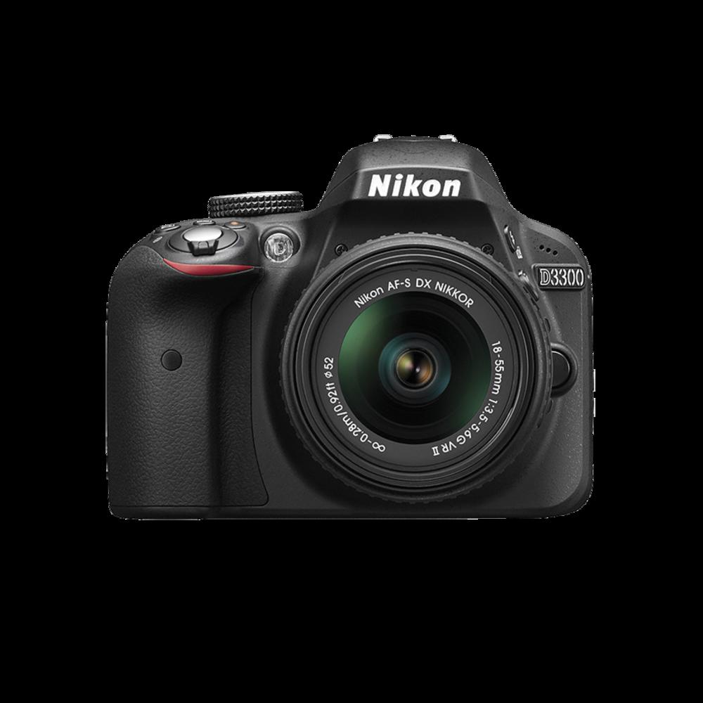 Nikon D3300 - w/ 18-55mm lens