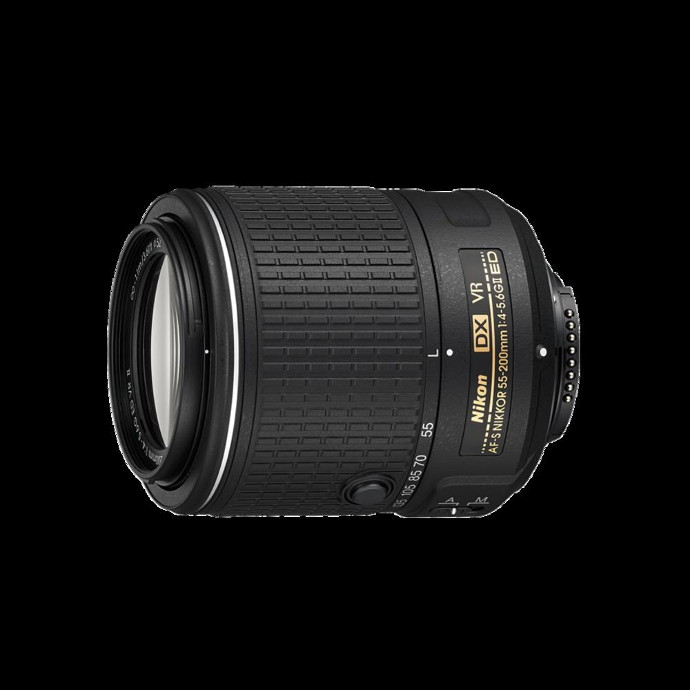 Nikon55-200mm - zoom lens