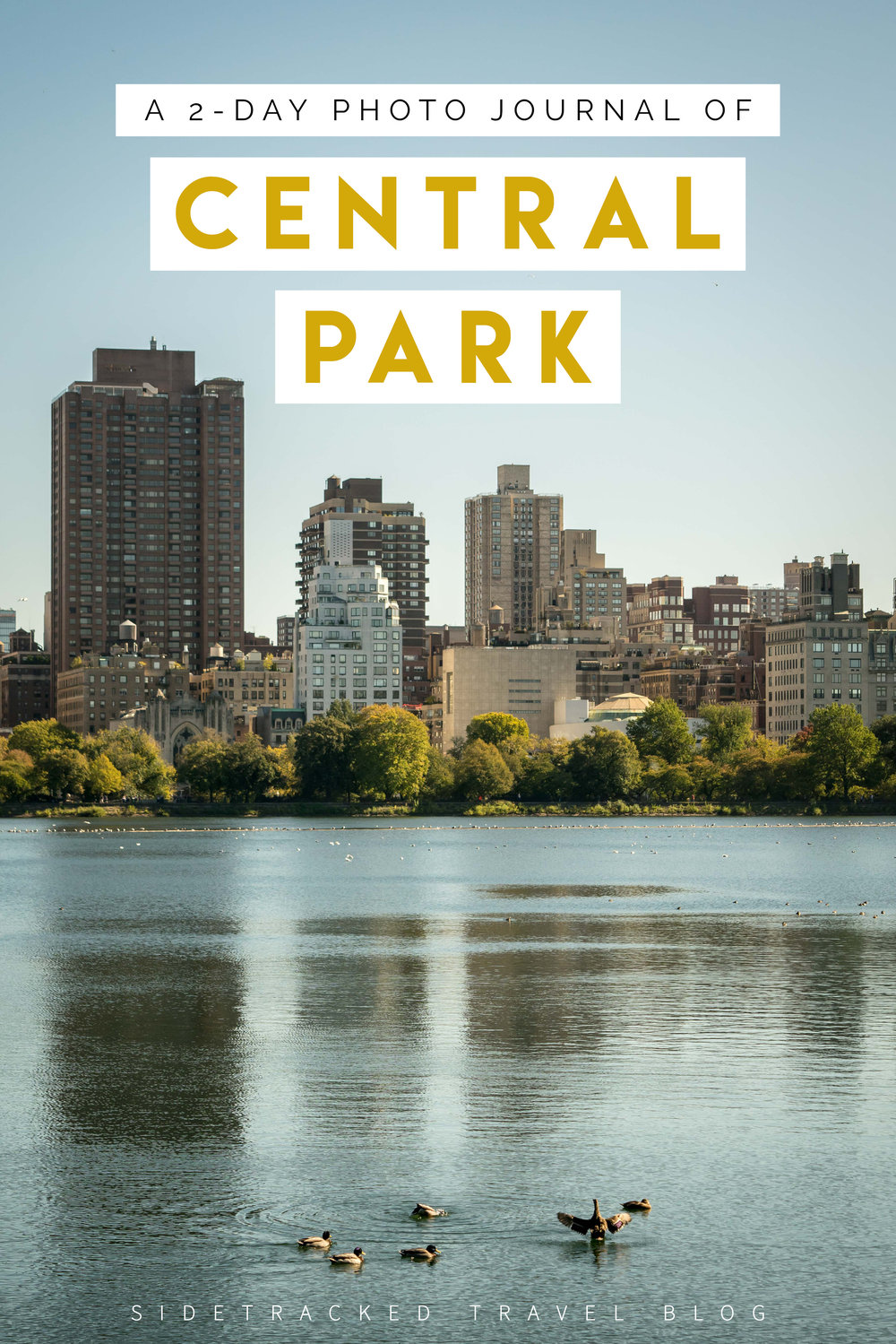 This 2-day visual guide highlights some of the top sites and attractions in and around Central Park, New York City.