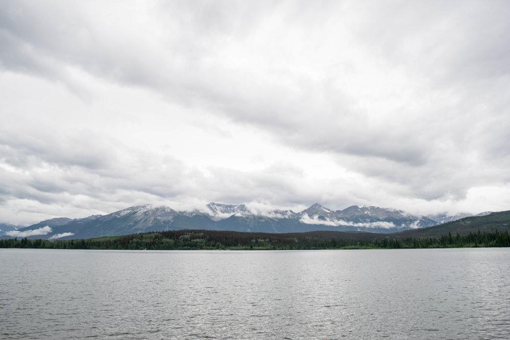 Pyramid Lake, Alberta