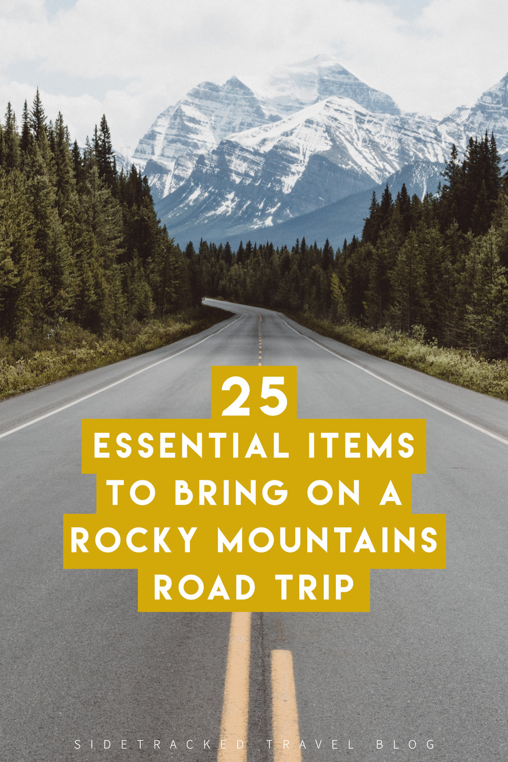 If you're headed off on a road trip through the Rocky Mountains, you're guaranteed to experience unforgettable natural scenery, wildlife sightings, mountain town hospitality, and plenty of outdoor activities, no matter the season. To help you feel more prepared so you can truly enjoy your trip, here are 25 essential items you shouldn't leave home without!